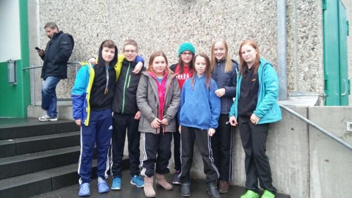 Wettkampfauftakt der Schwimmabteilung  in Hamm-Herringen beim 43. Junioren- und Jugendschwimmfest