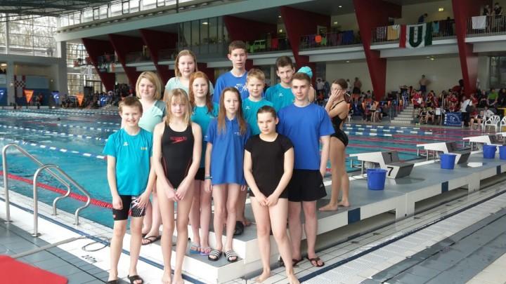 Schwimmabteilung beim 8. Hammer Sparkassen Cup
