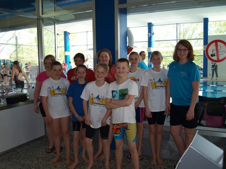 Schwimmabteilung war beim 25. Wichtelpokal in Hövelhof dabei