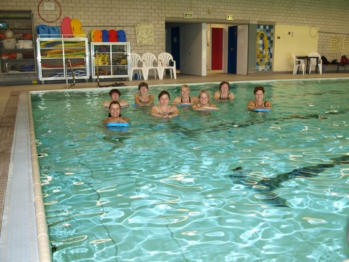 Erster Aquafitness-Kurs der Schwimmabteilung beendet