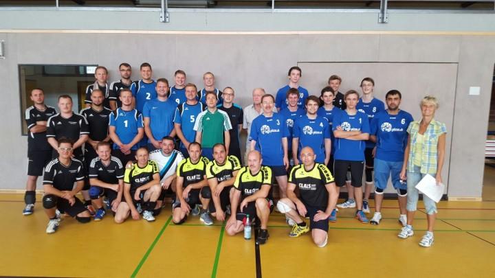Herren-Volleyballer belegen tollen 2. Platz