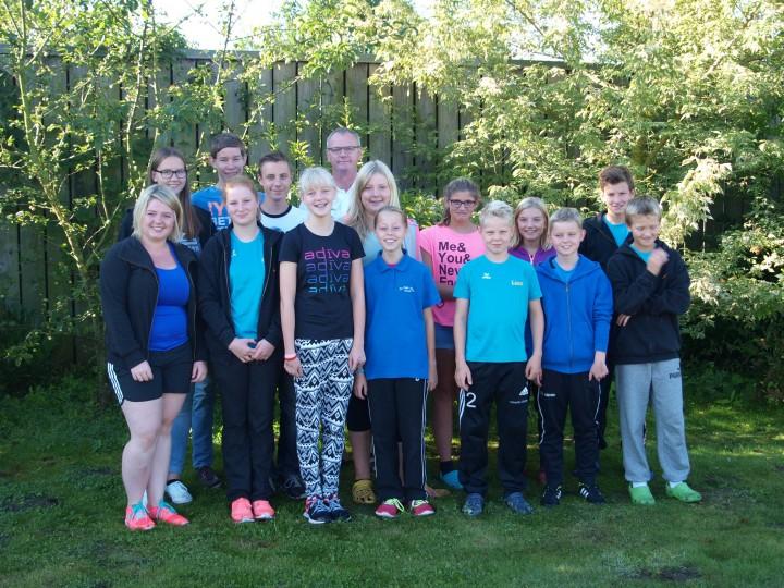 Schwimmabteilung beim 4. Schwimmfest des  SV Wasserfreunde Soest e.V.