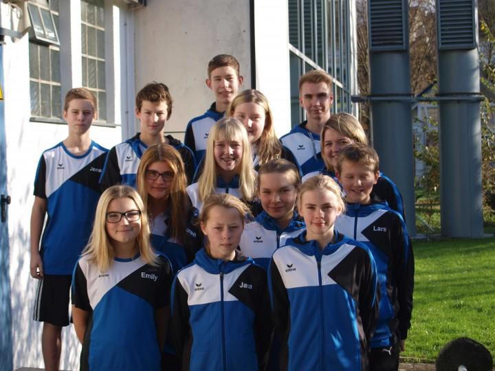 Wettkampfmannschaft des Schwimmverein in Warstein