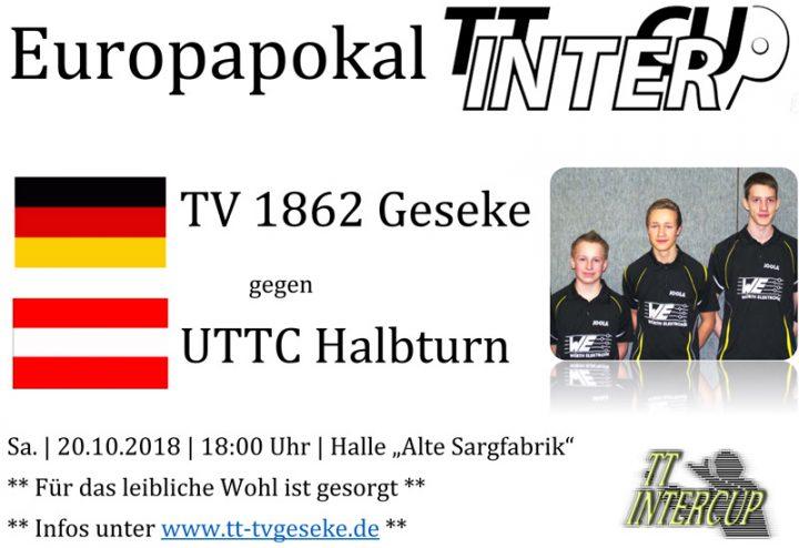 Österreicher im TT-Intercup in Geseke zu Gast