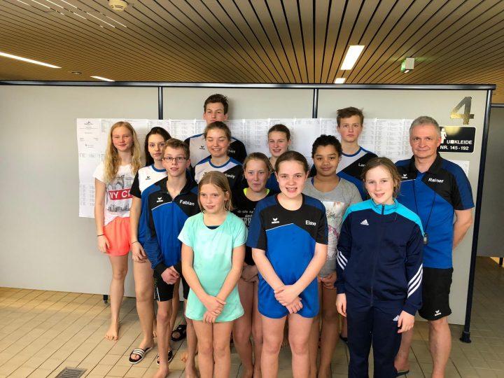 Werler Sparkassen Cup & Jubiläums- und  Jugendschwimmfest 2019